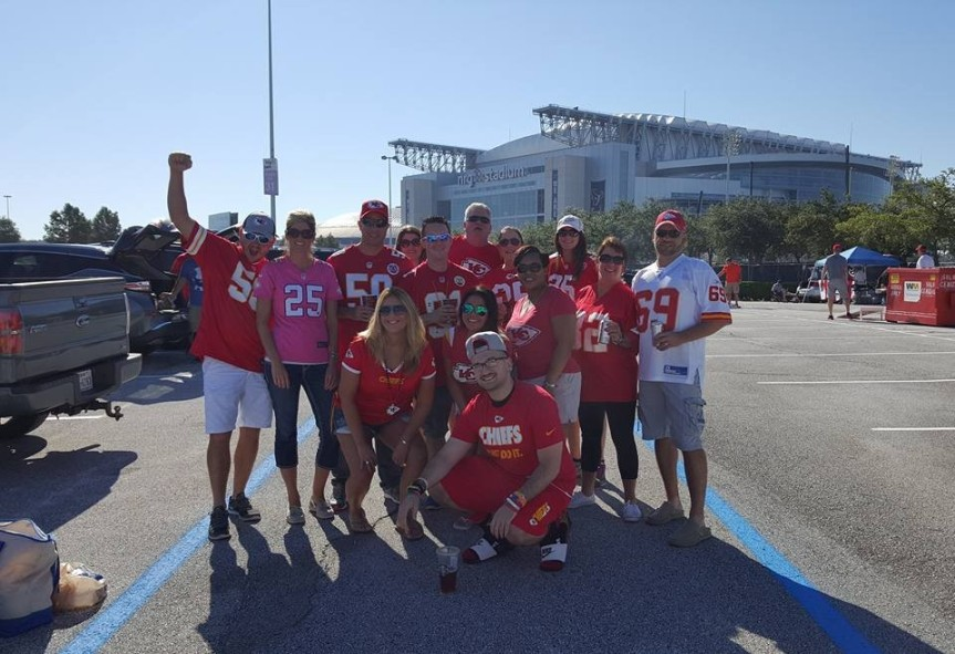 Chiefs Fans of Dallas in Houston